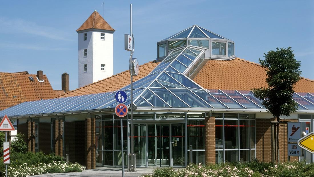 Lichtdach Sparkasse Groß Düngen