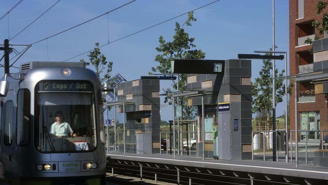 S-Bahn Haltestelle ÜSTRA Hannover