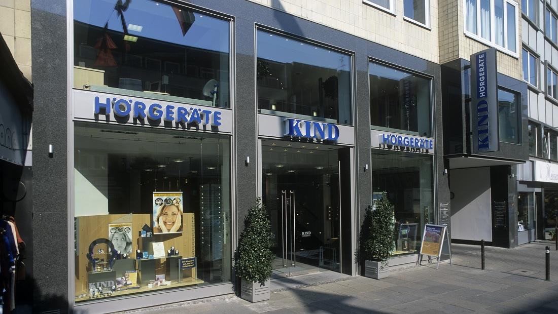 Schaufenster KIND Hörgeräte Hannover