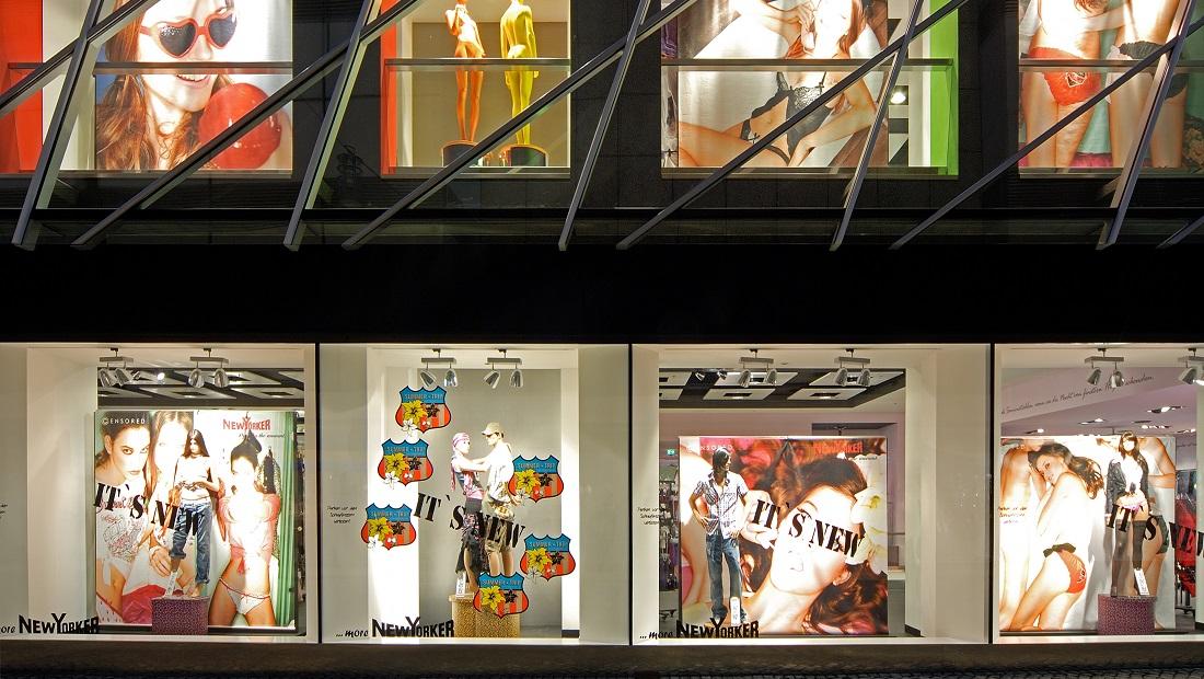 Schaufenster New Yorker Braunschweig