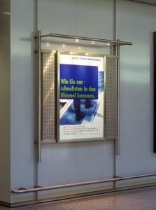 Werbetafel Flughafen Langenhagen
