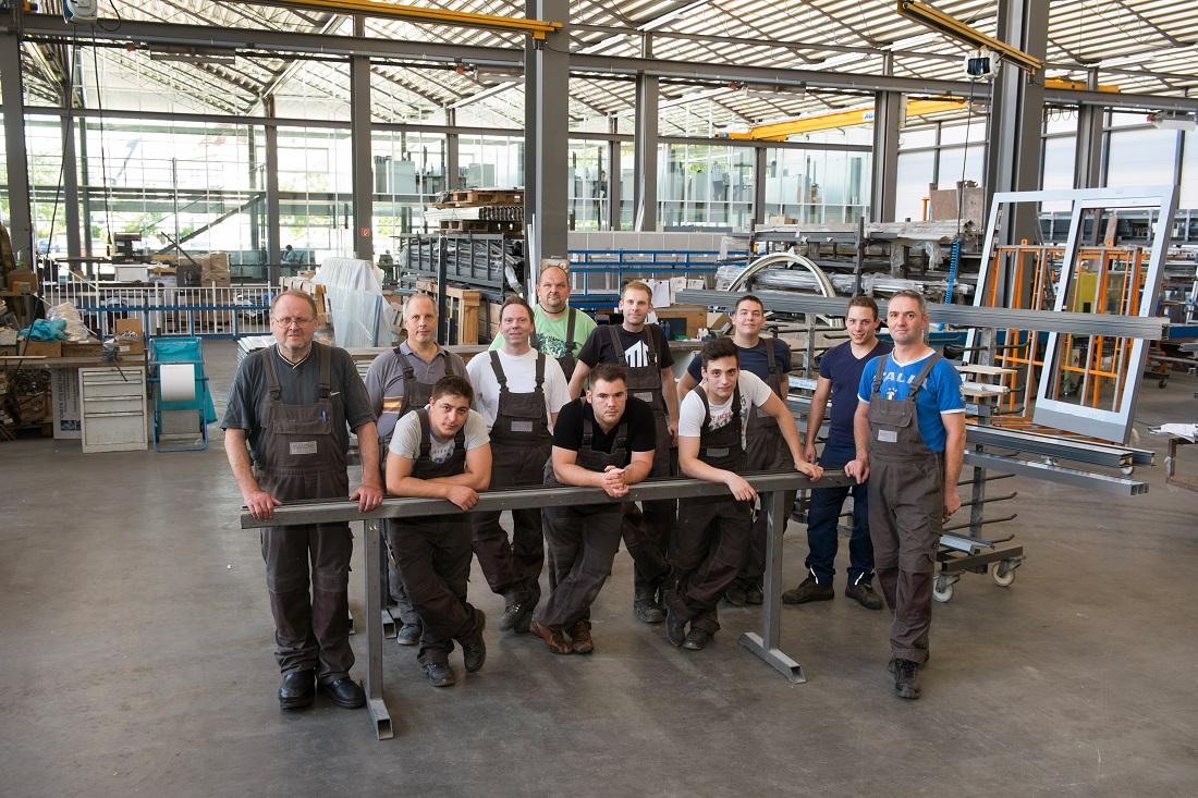 Werkstatt-Team